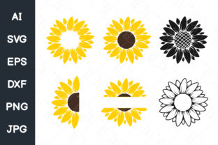Print on Demand: Sunflower Graphic Illustrations By CRStocker