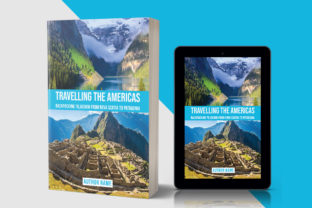 Travelling E-Book Cover Template 145 Graphic Print Templates By nozrulislam2020