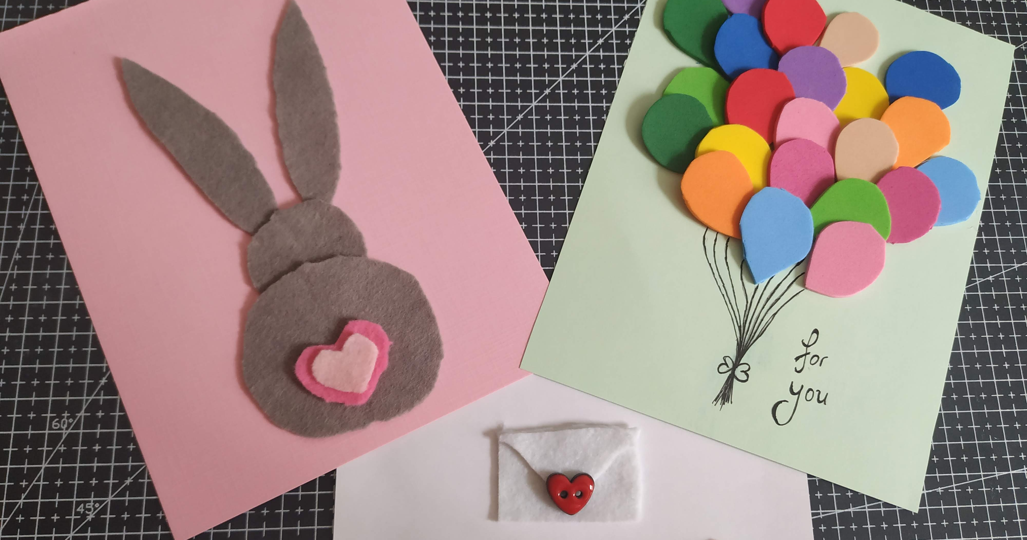 Create Your Own Cards With Felt That Are Amazing To Touch