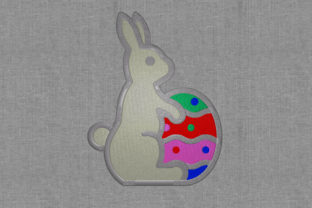 Easter Bunny Easter Embroidery Design By Digital Creations Art Studio