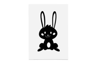 Print on Demand: Easter Bunny, Smiling and Cute Graphic Crafts By CarryBeautySVG