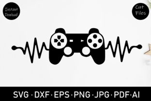 Game Controller Svg Graphic Crafts By Rizu Designs