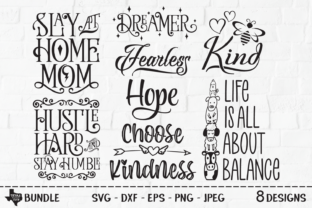 Print on Demand: Inspirational Saying Bundle Graphic Crafts By texassoutherncuts
