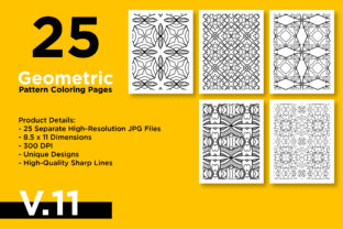 Print on Demand: KDP Coloring Book - Geometric Pattern Graphic Coloring Pages & Books Adults By Riduwan Molla