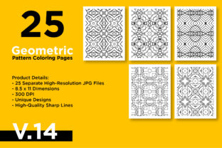 Print on Demand: KDP - Geometric Pattern Coloring Pages Graphic Coloring Pages & Books Adults By Riduwan Molla