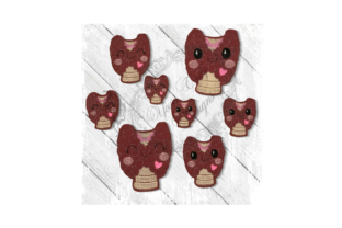 Kawaii Organ Thyroid Accessories Embroidery Design By Yours Truly Designs
