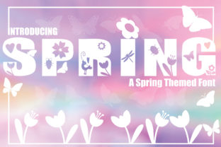 Print on Demand: Spring Display Font By KtwoP