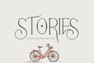 Print on Demand: Stories Serif Font By mdrdesigns99 1