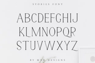 Print on Demand: Stories Serif Font By mdrdesigns99 14