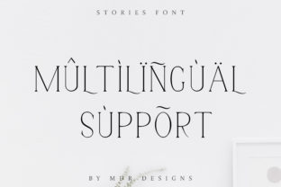 Print on Demand: Stories Serif Font By mdrdesigns99 15