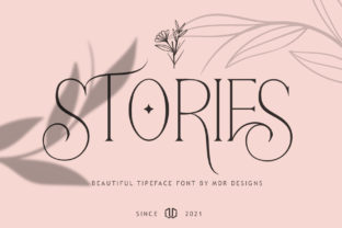 Print on Demand: Stories Serif Font By mdrdesigns99 18