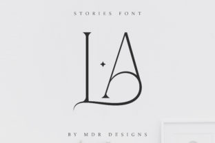 Print on Demand: Stories Serif Font By mdrdesigns99 2
