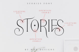 Print on Demand: Stories Serif Font By mdrdesigns99 5