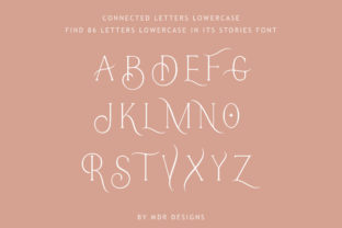 Print on Demand: Stories Serif Font By mdrdesigns99 8