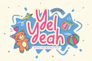 Print on Demand: Yel Yeah Script & Handwritten Font By allouse.studio