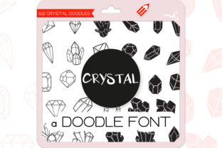 Print on Demand: Crystal Dingbats Font By WADLEN
