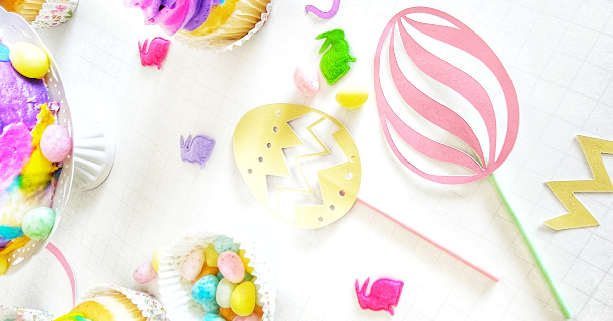 DIY Easter Cupcake Toppers With Cricut Joy main article image