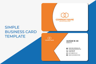 Print on Demand: Editable Business Card Templates Graphic Print Templates By Mazid's Variation