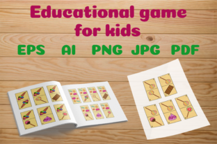 Educational Game for Kids PDF Graphic PreK By catcher_sketcher