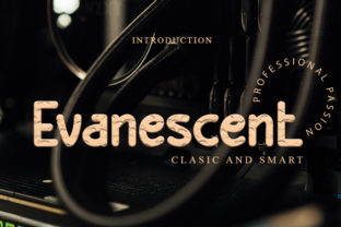Print on Demand: Evanescent Dingbats Font By Intana Type
