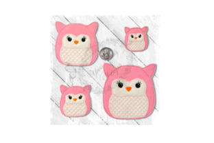 Fluffy Friend Owl Birds Embroidery Design By Yours Truly Designs