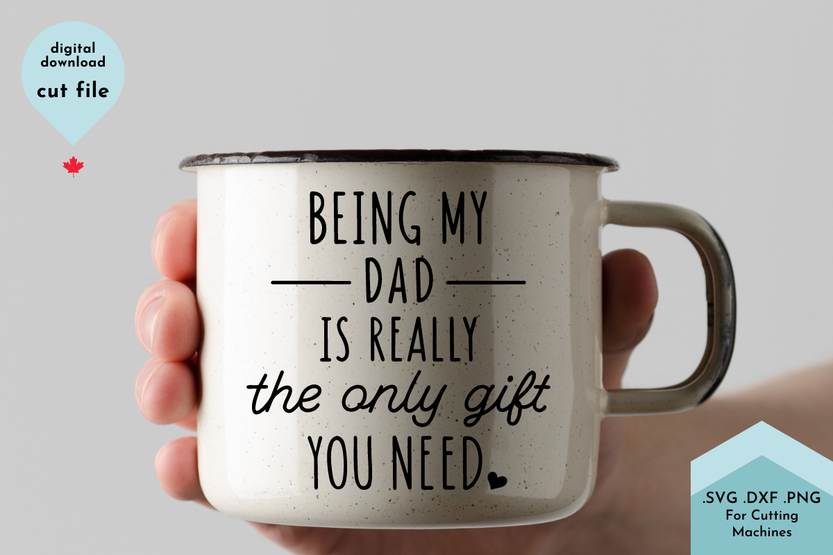 Funny Father's Day SVG Cut File for... SVG File