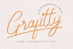 Print on Demand: Grafitty Script & Handwritten Font By indrotanwijoyo