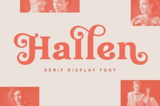 Print on Demand: Hallen Serif Font By Edignwn Type