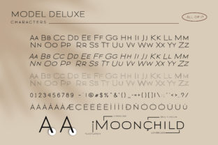 Print on Demand: Modern Deluxe Sans Serif Font By fontherapy 5