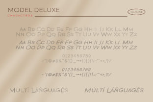 Print on Demand: Modern Deluxe Sans Serif Font By fontherapy 7