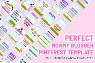 Print on Demand: Perfect Mommy Blogger Pinterest Template Graphic Presentation Templates By SnapyBiz