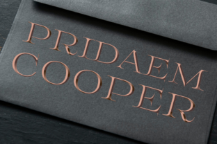 Print on Demand: Pridaem Cooper Color Fonts Font By glukfonts