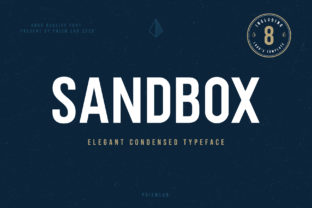 Print on Demand: Sandbox Sans Serif Fuente Por PrismLAB