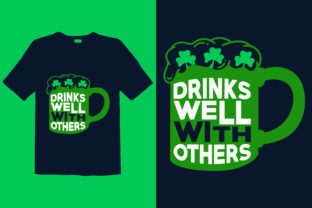 Print on Demand: St. Patrick's Day T-shirt Design 012 Graphic Print Templates By graphicdabir