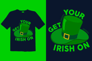 Print on Demand: St. Patrick's Day T-shirt Design 019 Graphic Print Templates By graphicdabir