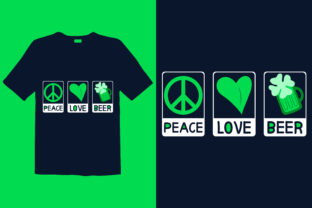 Print on Demand: St. Patrick's Day T-shirt Design 025 Graphic Print Templates By graphicdabir