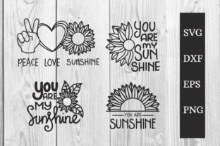 Print on Demand: You Are My Sunshine SVG Cut File Graphic Print Templates By dadan_pm