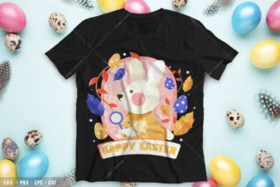 Happy Easter 1 Graphic Print Templates By Comfy Design