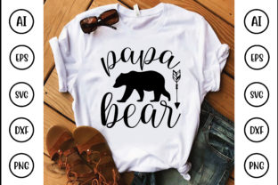 Papa Bear Graphic Crafts By Printable Store
