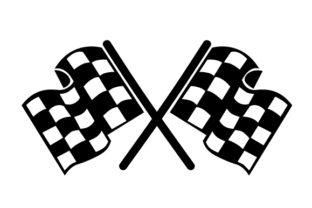 Racing Flags Cars Craft Cut File By Creative Fabrica Crafts