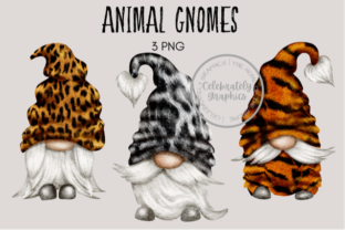 Animal Print Gnomes Graphic Illustrations By Celebrately Graphics