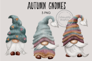 Autumn Gnomes Graphic Illustrations By Celebrately Graphics