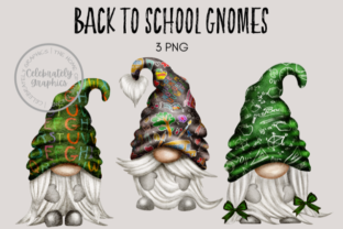 Back to School Teacher Gnomes Graphic Illustrations By Celebrately Graphics