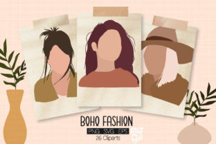 Print on Demand: Boho SVG, EPS, PNG Graphics Graphic Illustrations By MutchiDesign