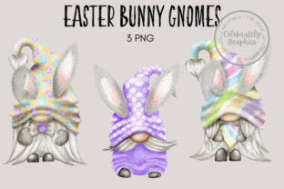 Easter Bunny Gnomes Graphic Illustrations By Celebrately Graphics