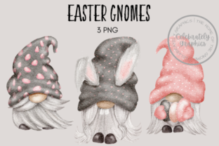 Easter Gnomes Graphic Illustrations By Celebrately Graphics