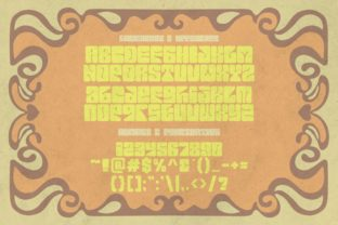 Print on Demand: Euphoria Party Display Font By putracetol 3