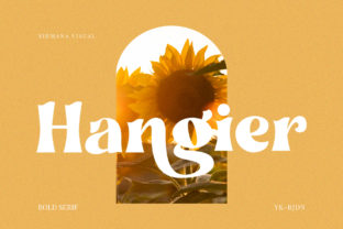 Print on Demand: Hangier Serif Font By Sigit Dwipa