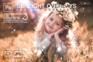 Natural Light Overlays Lightbeam Graphic Actions & Presets By 2SUNS