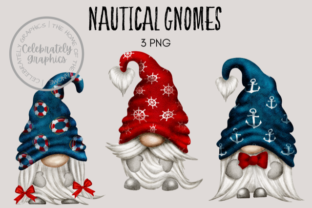 Nautical Gnome Clipart Graphic Illustrations By Celebrately Graphics